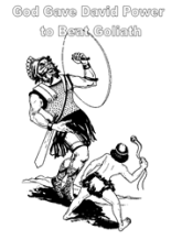 Free Bible Coloring Pages - David