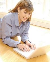 Free Christian eBooks - Woman on Laptop