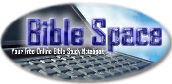 Bible Space Free Online Bible Study Notebook Logo