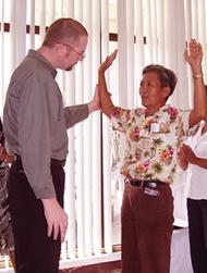 Christian healing service