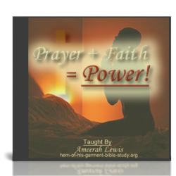 Prayer + Faith Audio Bible Study