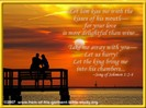 Christian Ecard Marriage - Couple on beach at sunset