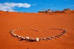 Christian Ecard - Heart in the sand
