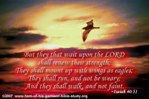 Christian ecard-Renew your strength