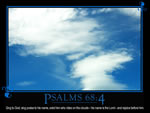Psalm 68:4 Wallpaper