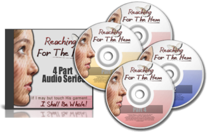 Free VIP Reaching For The Hem 4 part Audio Set
