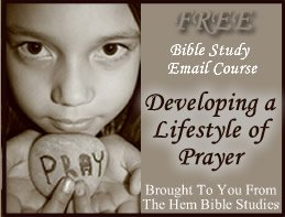 Free Email Bible Studies on Prayer!