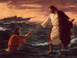 Fear Bible Study-Peter Walking on Water