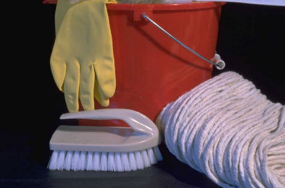 Spring Devotion - Get Your Cleaning Supplies!
