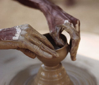 potter with clay becoming God's masterpiece online bible study courses