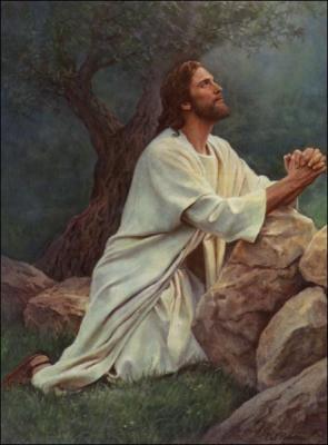 Jesus Christ in Prayer