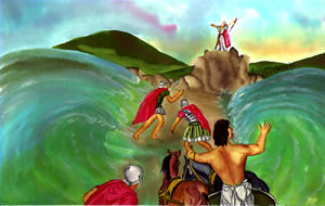 Bible story about Moses- Moses Parting The Red Sea