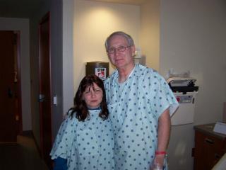 My mom & Michael