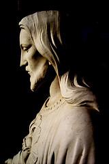 Jesus Healing statue of Jesus