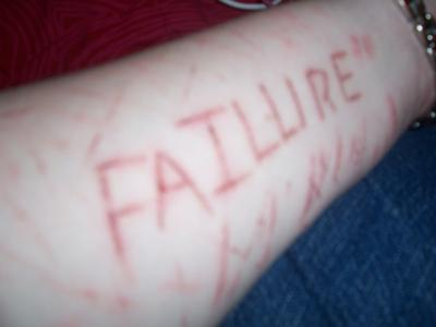One of my cuts - what I think of myself, but not what God says about me.