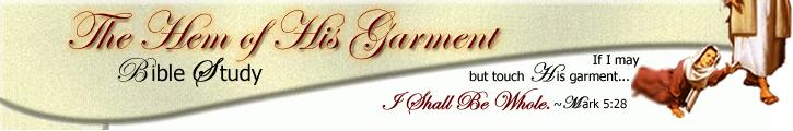logo for hem-of-his-garment-bible-study.org